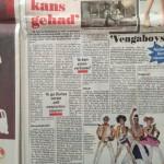 Telegraaf artikel Bombardement