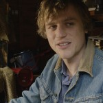 JOHNNY FLYNN (Arthur) in his repair shed