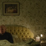 ROBERT BLYTHE (George) alone in bed