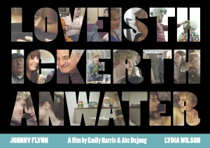 POSTER LOVE IS THICKER THAN WATER