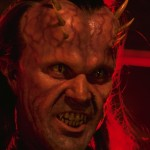 Patrick Bergin as the devil in HtH